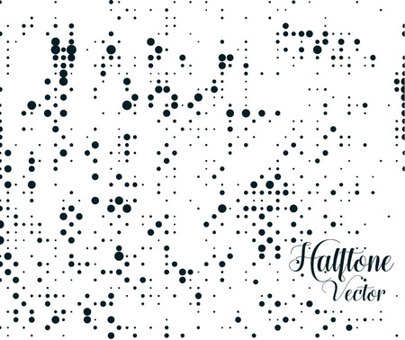 halftone dots: Grunge vector background. Halftone dots vector texture. Illustration