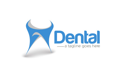 forceps: Branding Identity Corporate Dentist vector design Illustration