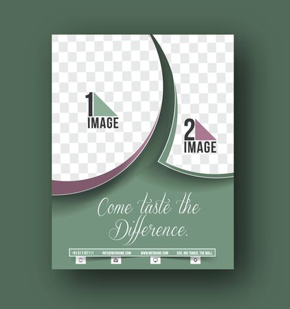 flyer design: Cup Cake Front Flyer Template