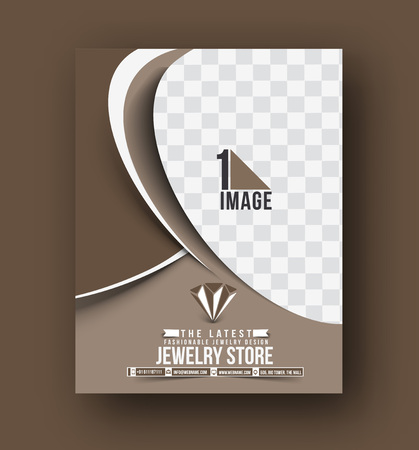 jewelry store: Jewelry Store Front Flyer & Poster Template