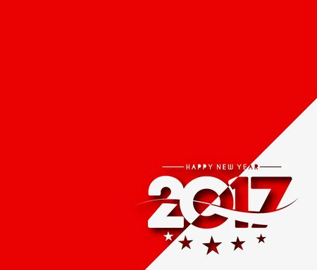 newyear: Happy new year 2017 Holiday Vector Illustration background