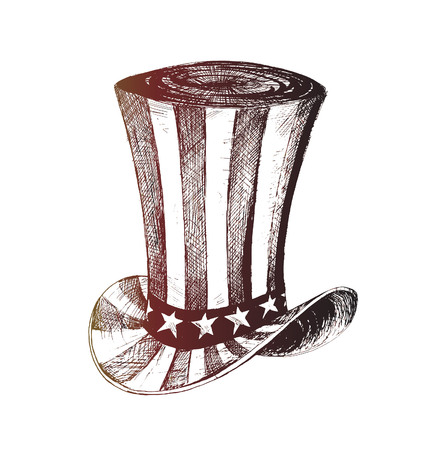 4th of July celebration hat icon