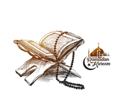 The holy book of the Koran