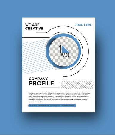 Flyer & Poster Cover Design in A4 Size Template