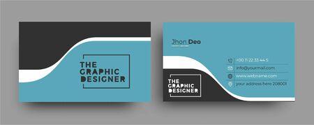 Business Card - Creative and Clean Modern Business Card Template. Zdjęcie Seryjne - 137565983