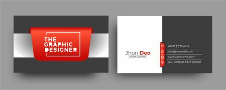 Business Card - Creative and Clean Modern Business Card Template. Zdjęcie Seryjne - 137565999