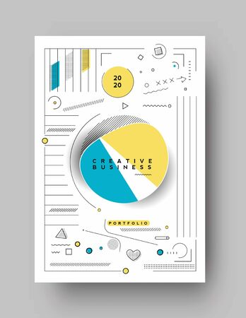 Abstract geometric background Use for modern design, cover, poster, template, brochure, decorated, flyer, banner.