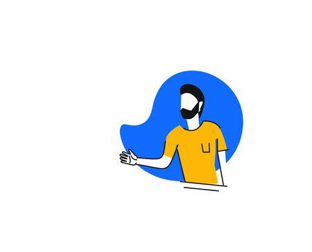 Shaking hands business vector illustration. Business agreement vector concept. Illusztráció