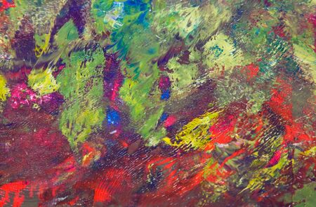expressionist: abstract modern colorful paint texture