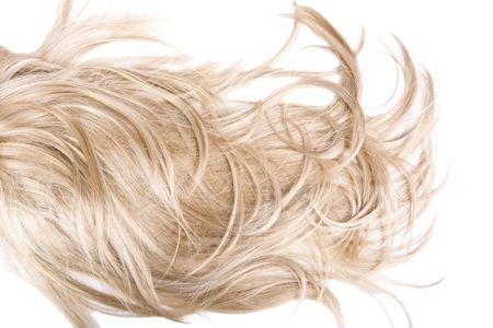 belle et saine la texture des cheveux brillants Banque d'images