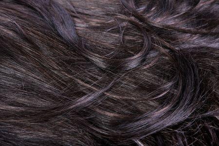 beautiful shiny healthy hair texture Stock Photo