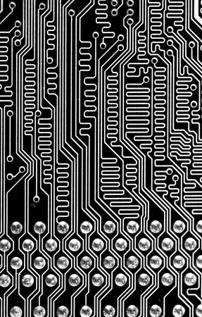 abstract macro background computer memory Stock Photo - 5746106