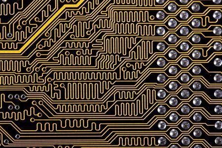 abstract macro background computer memory photo
