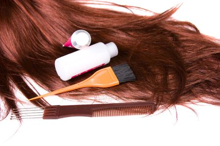 beau style sain brillant cheveux