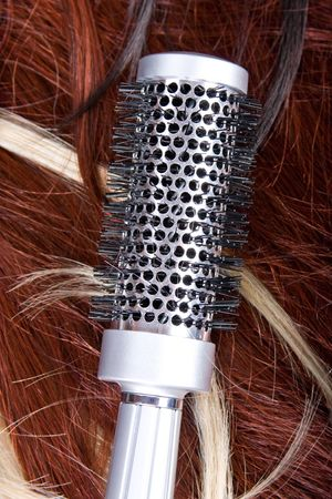 beautiful shiny healthy style hair Stock Photo - 5746330