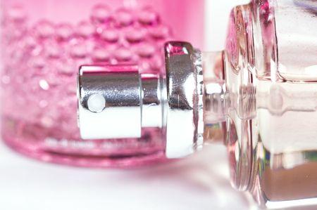 parfum: bottle of parfum Stock Photo