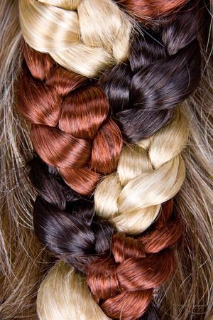 textura pelo: hermoso estilo sano brillante pelo