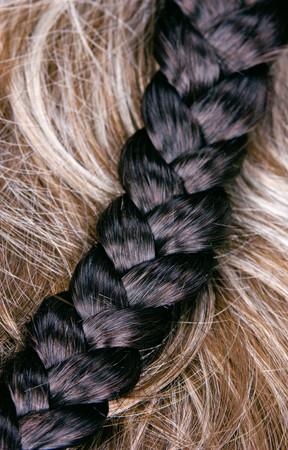 beautiful shiny healthy style hair Stock Photo - 7156545