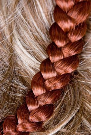 beautiful shiny healthy style hair photo