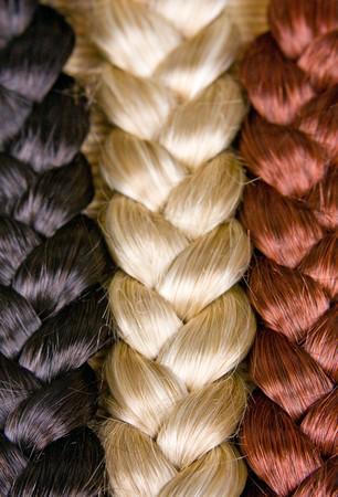 beautiful shiny healthy style hair Stock Photo - 7156529