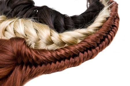 beautiful shiny healthy style hair