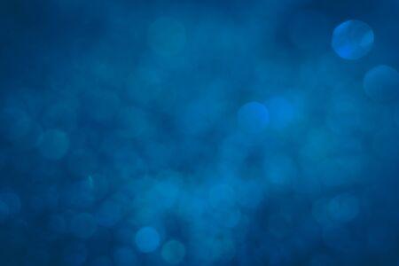 Dark blue sparkle glitter, deep blue sea water in a bit low light underwater Stock Photo