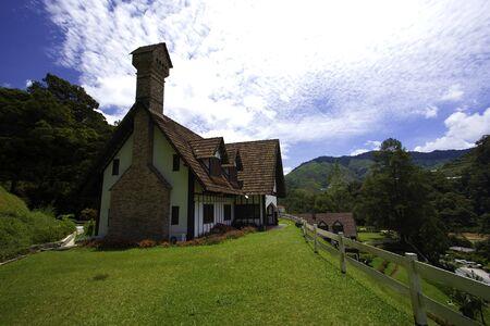english house: Old English House Stock Photo