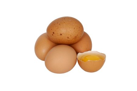 new-laid eggs for breakfast Stock Photo - 5488359