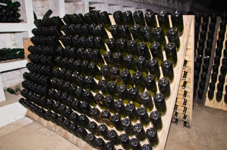 rack for classic champagne production