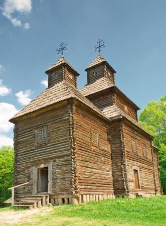 ukrainian ancient church in village Stock Photo - 13783708