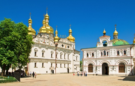 yard of the Kiev-Pechersk Lavra