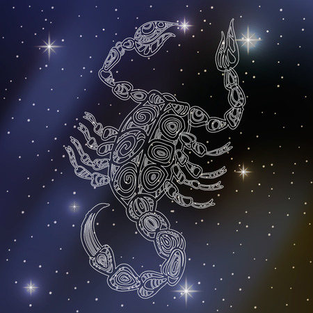zodiacal signs: scorpio, sign of the zodiac
