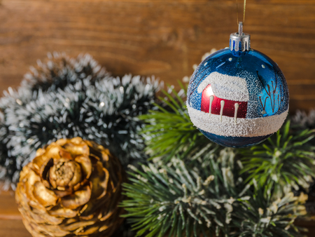 old fashioned christmas tree decorations stock photo 90091757 - Old Fashioned Christmas Tree Decorations