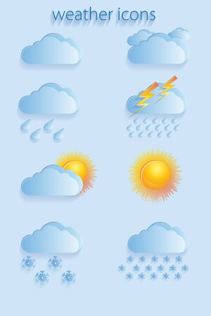 icons: weather icons