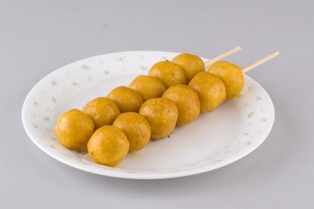 nosh: snack food fishball