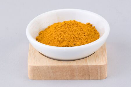 peppery: curry powder
