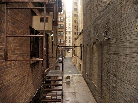 ニューヨーク - マンハッタンの路地