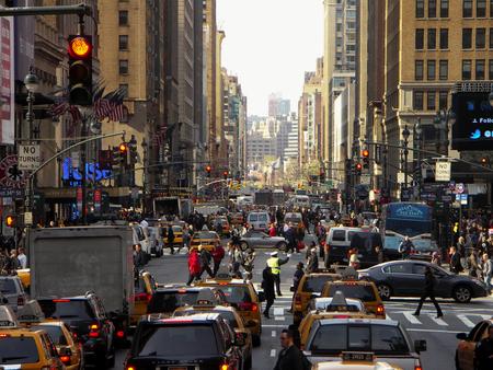 日にニューヨーク群衆