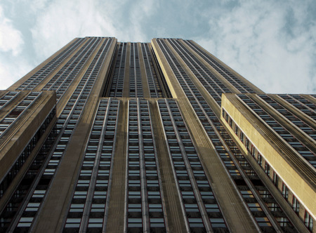 New York - Empire State Building, view from below in New York City Sajtókép
