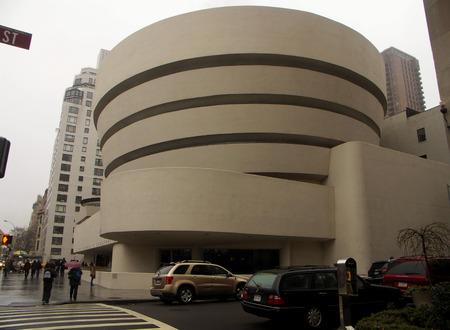 New York - Guggenheim Museum  新聞圖片