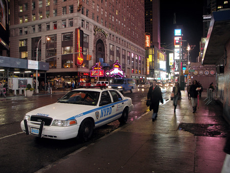 New York - NYPD Police Car (Night)