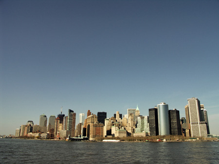 weehawken: New York City - Manhattan midtown skyline panorama