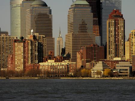 ニューヨークの高層ビル建物