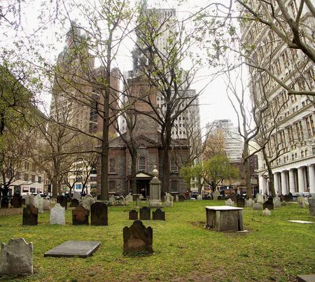 ニューヨークのトリニティ教会墓地