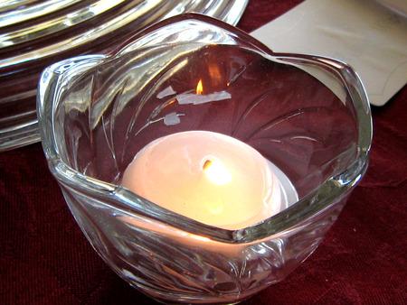 votive candle: Votive Candle Stock Photo