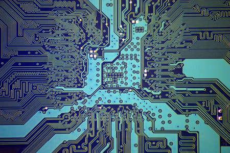 soldering: High technology  Stock Photo