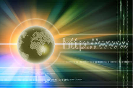 Internet concept Stock Photo - 7156911