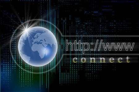 Internet concept Stock Photo - 7156903