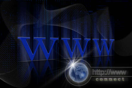 Internet concept  Stock Photo - 7156923