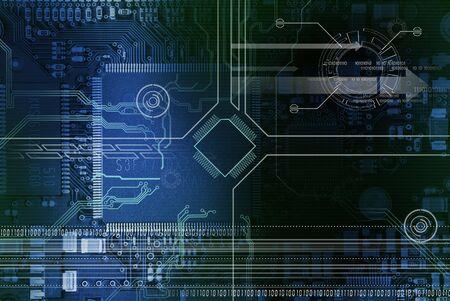 Technology concept Stock fotó